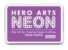 Hero Arts Neon Ink Pad - Neon Purple