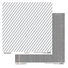 Glitz Design Black & White: Stripe