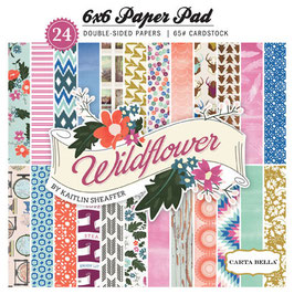 Carta Bella Wildflower 6x6 Paper Pad
