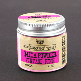 Finnabair Art Ingredients Mica Powder - Vintage Pink
