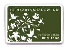 Hero Arts Forever Green Mid Tone Shadow Ink Pad