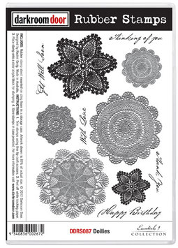 Darkroom Door Stamp Set - Doilies