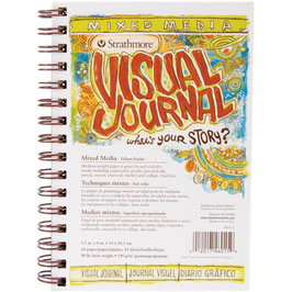 Strathmore Visual Journal: Mixed Media Vellum Finish