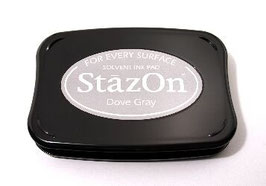StazOn Ink Pad: Dove Grey