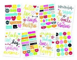 Simple Stories DIY  Stickers - Words