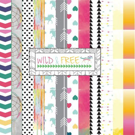 Glitz Design Wild & Free 6x6 Paper Pad