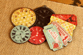 Prima Wood Clocks & Tickets - Welcome to Paris