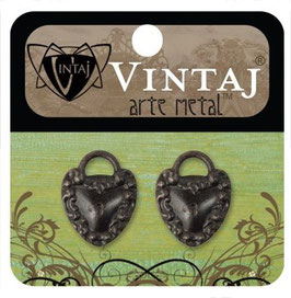 VIntaj Arte Metal Kept Heart
