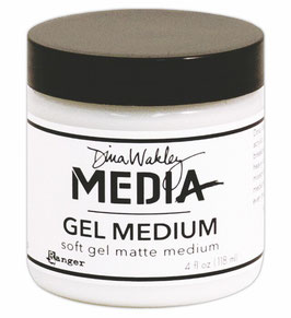 Dina Wakley Media Line Gel Medium 4oz Jar
