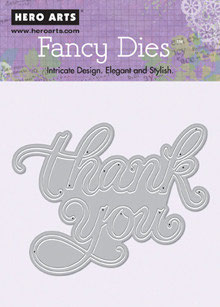 Hero Arts Fancy Cuts: Thank You
