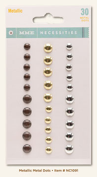 MME Necessities Metallic Dots