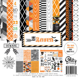 Glitz Designs Raven Collection Pack
