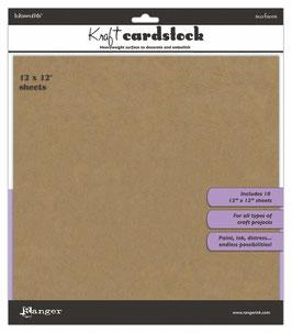 Inkssentials 12x12 Kraft Cardstock
