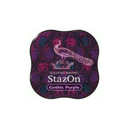 StazOn Midi Ink Pad: Gothic Purple
