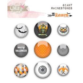 Glitz Designs Raven Giant Rhinestones