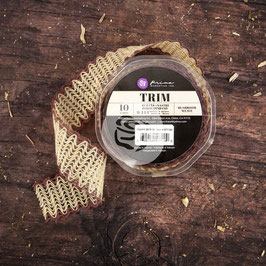 Prima Weave Trim - Mushroom
