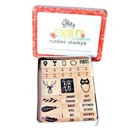 Glitz Design Finnley Stamp Tin