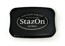 StazOn Ink Pad: Jet Black
