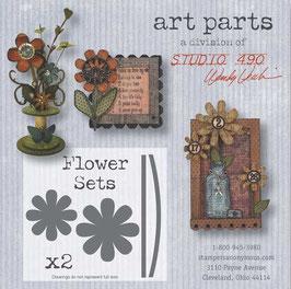 Art Parts - Flower Sets