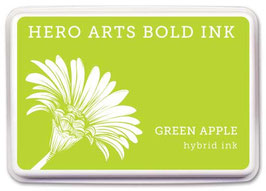 Hero Arts Bold Ink Pad: Green Apple