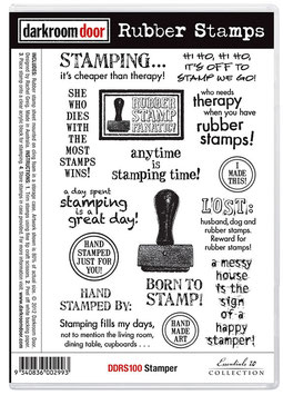 Darkroom Door Stamp Set - Stamper