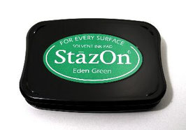 StazOn Ink Pad: Eden Green