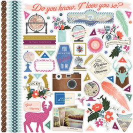 Carta Bella Wildflower Element Stickers