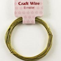 Craft Wire 24 gauge (0.5mm) - Gold