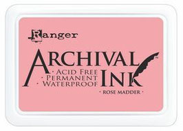 Archival Ink  - Rose Madder