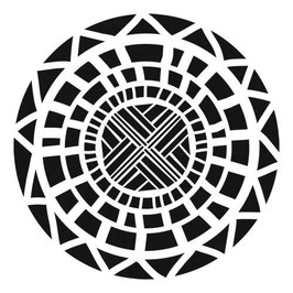 Julie Fei-Fan Balzer Stencil: TCW378 Celtic Circle