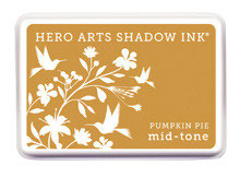 Hero Arts Pumpkin Pie Mid Tone Shadow Ink Pad