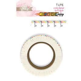 Glitz Design: Color Me Happy Washi Tape - Rainbow Stripe