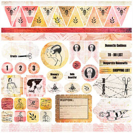 7 Dots Studio 12x12 Sticker Sheet