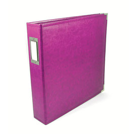 "WRMK 8.5"" x 11"" Classic Leather Album: Plum"