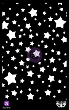 Finnabair 6x9  Stencil : Stars