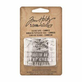 Tim Holtz Idea-ology Tissue Tape - Commute