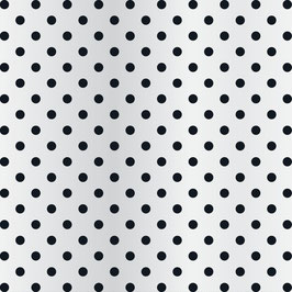 Teresa Collins Signature Essentials Clear Paper:  Dots Black