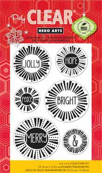Hero Arts Clear Stamps: Message Bursts