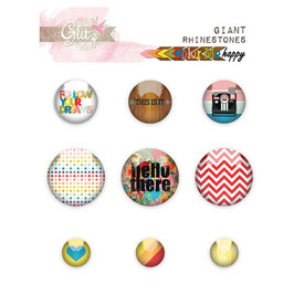 Glitz Design: Color Me Happy Giant Rhinestones