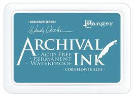 Wendy Vecchi Archival Ink Re-Inker : Cornflower Blue