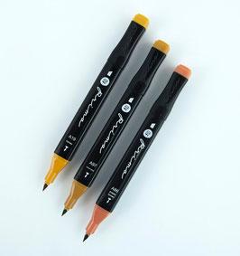 Prima Palette Marker Set: Dark Skin
