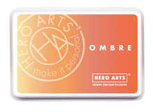 Hero Arts Ombre Ink Pad: Butter to Orange