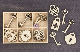 Prima Wood Icons In A Box: Keys
