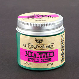 Finnabair Art Ingredients Mica Powder - Bottle Green