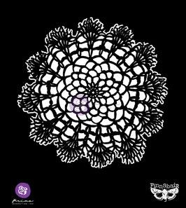 Finnabair 6x6 Stencil : Lace Doily #1