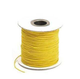 Coloured Elastic Cord - Yellow