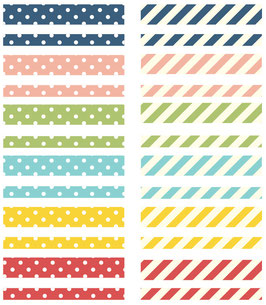 Simple Stories Life Documented Basic Washi Tape