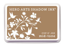 Hero Arts Cup O' Joe Mid Tone Shadow Ink Pad