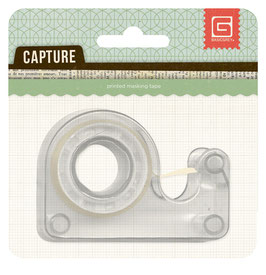 BasicGrey Capture Printed Tape