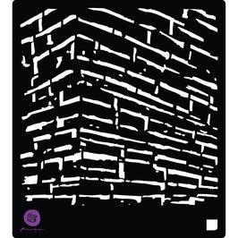 Prima 6x6 Stencil: The Wall